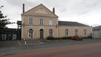 Angrie - The town hall of Angrie