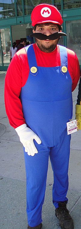 Anime Expo 2011 - Mario and Kick-Ass (cropped).jpg