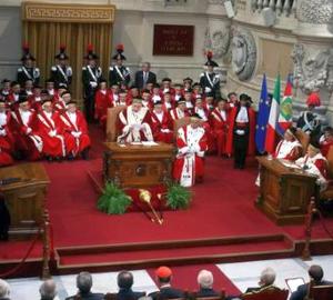 Italiano: Anno giudiziario presso la Corte di ...
