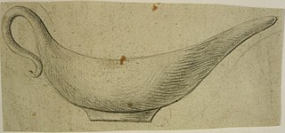 Design for a silver sauce-boat