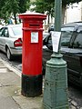 Anonymous Pillar Box, Denmark Villas, Hove, East Sussex - geograph.org.uk - 1724887.jpg