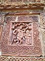 Another example of terracotta works on the temple walls of Brindaban Chandra's Math.jpg