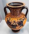 Antimenes Painter - ABV 269 extra - Herakles and Athena in chariot - man between duelling hoplites - København NCG 2627 - 01.jpg
