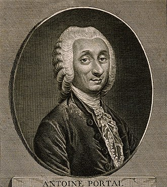 Antoine Portal - French Anatomist and medical historian