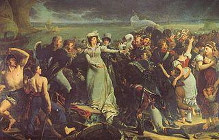 Die Herzogin von Angouleme schifft sich in Pauillac ein