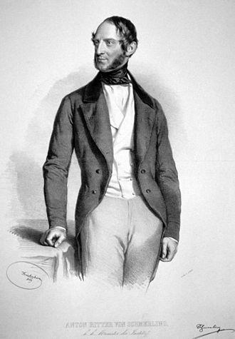 Anton von Schmerling - Anton Ritter von Schmerling, 1849