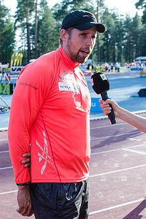 Antti Ruuskanen Finnish javelin thrower