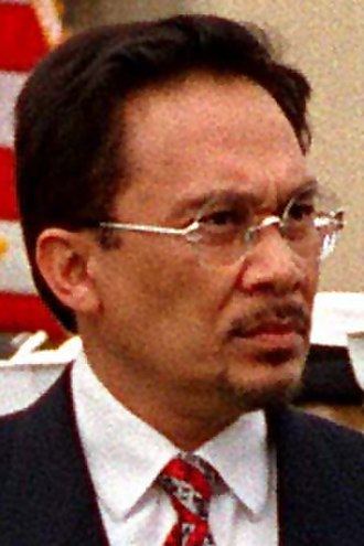 Minister of Finance (Malaysia) - Image: Anwar 980416