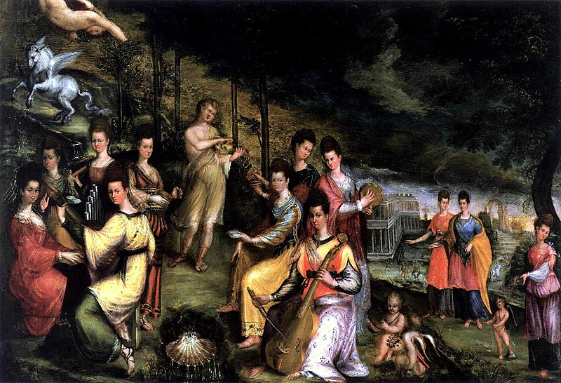 File:Apollo and the Muses by Lavinia Fontana.jpg