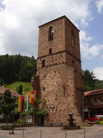 Elmstein - Appenthal churchtower ruins