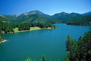 Applegate River - Applegate Lake on the Applegate River