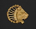 Applique in the shape of a lion's head MET DT4928.jpg