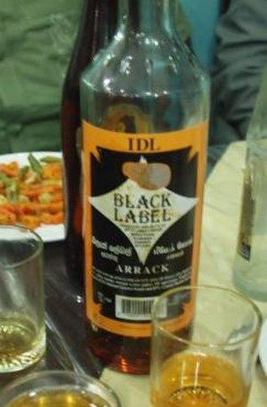 Arrack - Coconut arrack from Sri Lanka
