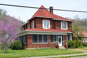 National Register of Historic Places listings in Johnson County, Kentucky - Image: Archer House in Paintsville