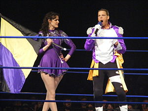 Robert Evans (wrestler) - Archibald Peck and Veronica in April 2011