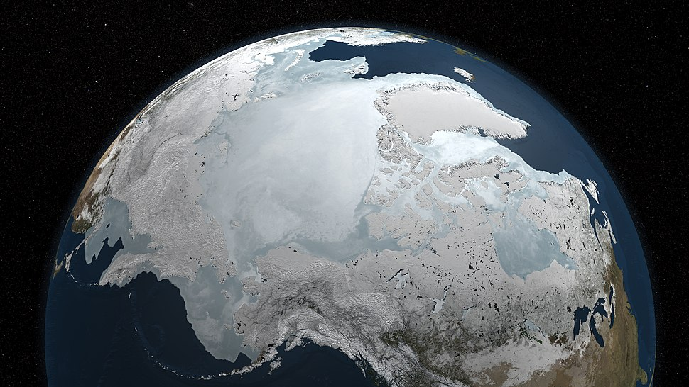 Arctic Sea Ice - September 2009 to March 2010 (4497233026)