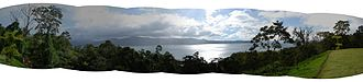 Lake Arenal - Panorama of the area around Arenal Lake.