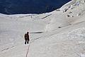 Argentina - Mt Tronador Ascent - 36 - descending our route (6834404026).jpg