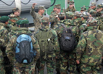 Argentina Marines - 2009: Training on USS ''Oak Hill''