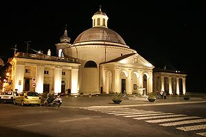 Ariccia - The church of Santa Maria Assunta by Gian Lorenzo Bernini.