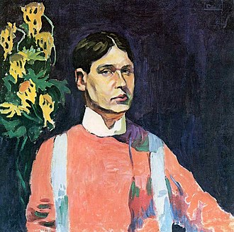 1943 in fine arts of the Soviet Union - Image: Aristarkh Lentulov Self portrait 1913