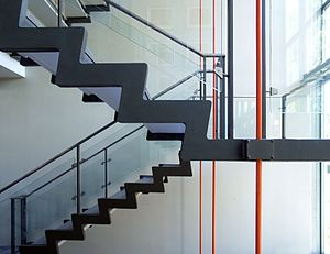 Rødovre Town Hall - The stairwell