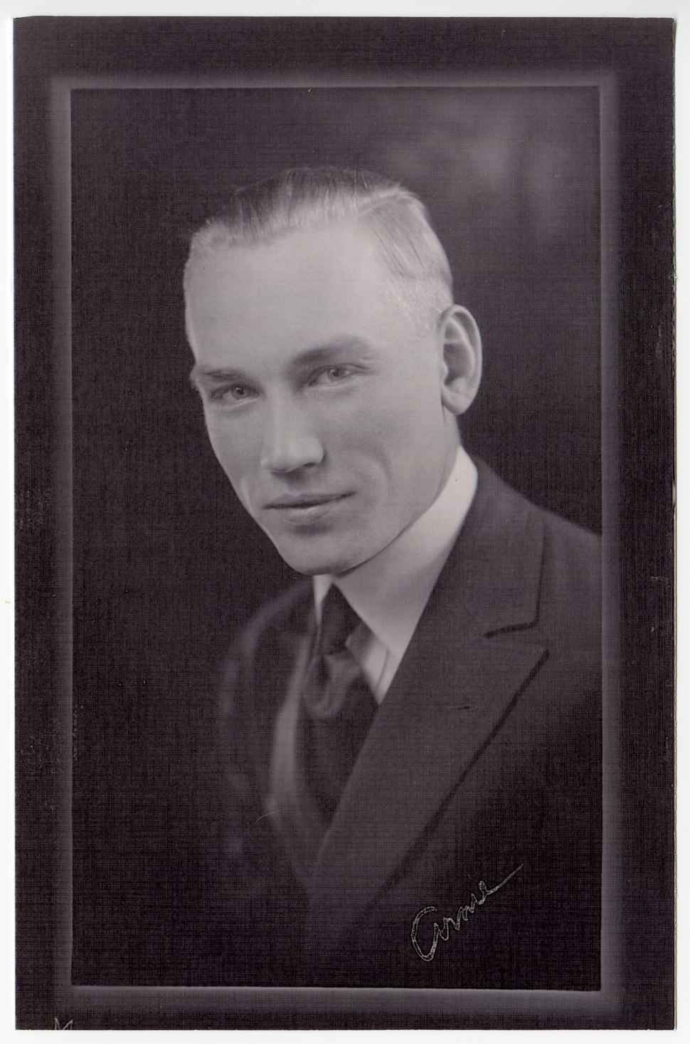 Arnold Beckman early portrait 2.65