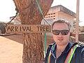 Arrival Tree at Kismayo Airport, Somalia.jpg