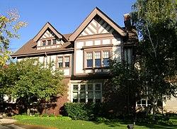Arthur M Parker House Detroit MI