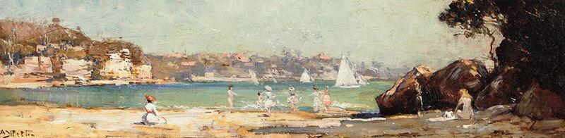 Arthur Streeton - Mosman's Bay, 1914