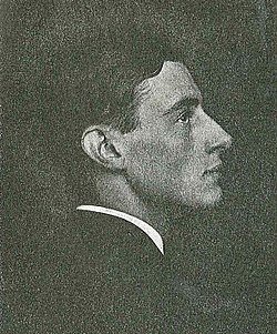 Ragnar Arvedson omkring 1918.