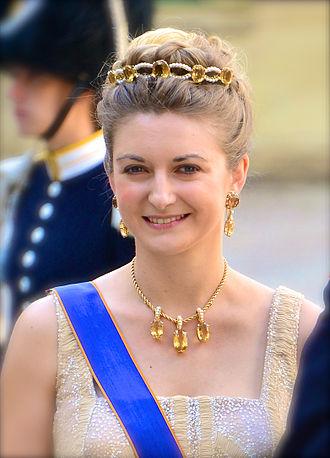 Stéphanie, Hereditary Grand Duchess of Luxembourg - Image: Arvstorhertiginnan Stéphanie av Luxemburg
