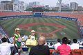 Asahi and Kirin Beer Salesgirls URIKO-SAN in Yokohama Stadium.jpg