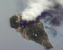 Ash and Steam Plume, Soufriere Hills Volcano, Montserrat.jpg