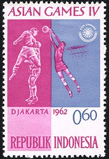 220px Asian Games 1962 stamp of Indonesia 9 - Asian Games Indonesia 1962