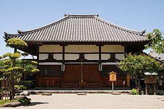 Buddhist temple in Nara Prefecture, Japan
