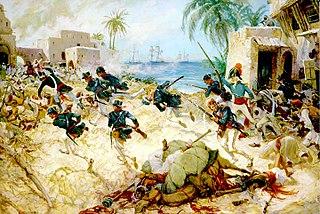 Battle of Derna (1805) 1805 battle of the First Barbary War