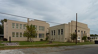 National Register of Historic Places listings in Craig County, Oklahoma - Image: Attucks School