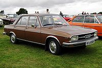 Audi 100LS C1 1761cc first registered November 1976.JPG