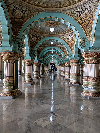 Mysore Palace - Audience hall