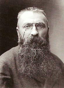Фотография Огюста Родена 1891 года