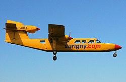 Aurigny Air Services, Britten-Norman BN-2A Mk3 Trislander, G-JOEY.jpg