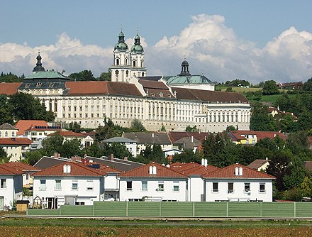 St Florian's Priory, where Bruckner lived on many occasions during his life Austria St.Florian Monastery.jpg