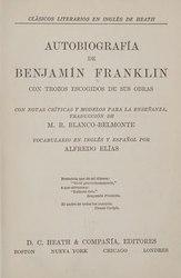 Benjamin Franklin: Español: Autobiografía de Benjamín Franklin