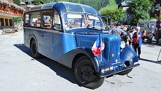 Unic - Tour bus UNIC 1937 L20