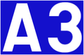 Autoroute 3 (Luxemburg) number.png