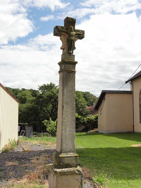 Autrepierre (M-et-M) croix de chemin