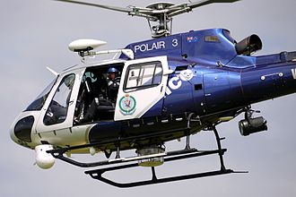 New South Wales Police Force - Aviation Support Group AS 350B Squirrel POLAIR 3.
