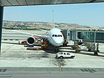 Avion à l'aéroport de Madrid - 2015 - 2.JPG