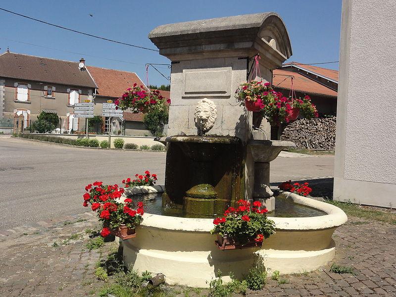 Avocourt (Meuse) fontaine